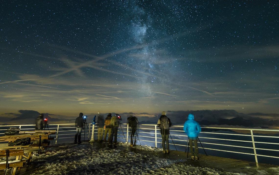 dolomiti rifugi nikon school workshop paesaggio notturna via lattea startrail 00043