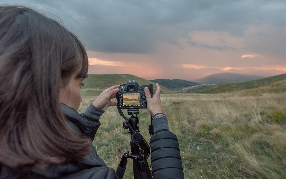 Abruzzo Nikon School Workshop Paesaggio Notturna Via Lattea Startrail 00010