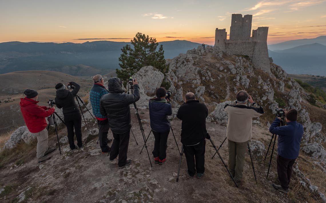 Abruzzo Nikon School Workshop Paesaggio Notturna Via Lattea Startrail 00011