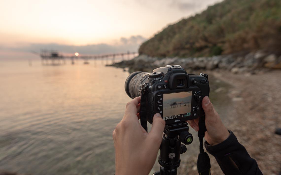 Abruzzo Nikon School Workshop Paesaggio Notturna Via Lattea Startrail 00016