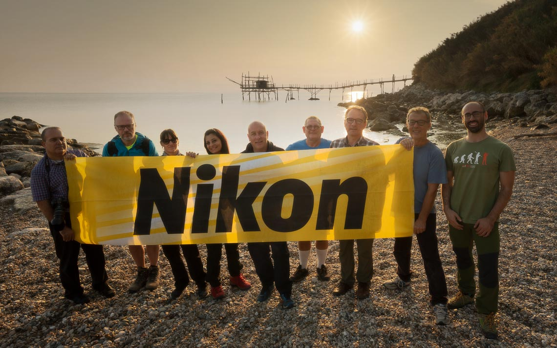 Abruzzo Nikon School Workshop Paesaggio Notturna Via Lattea Startrail 00018