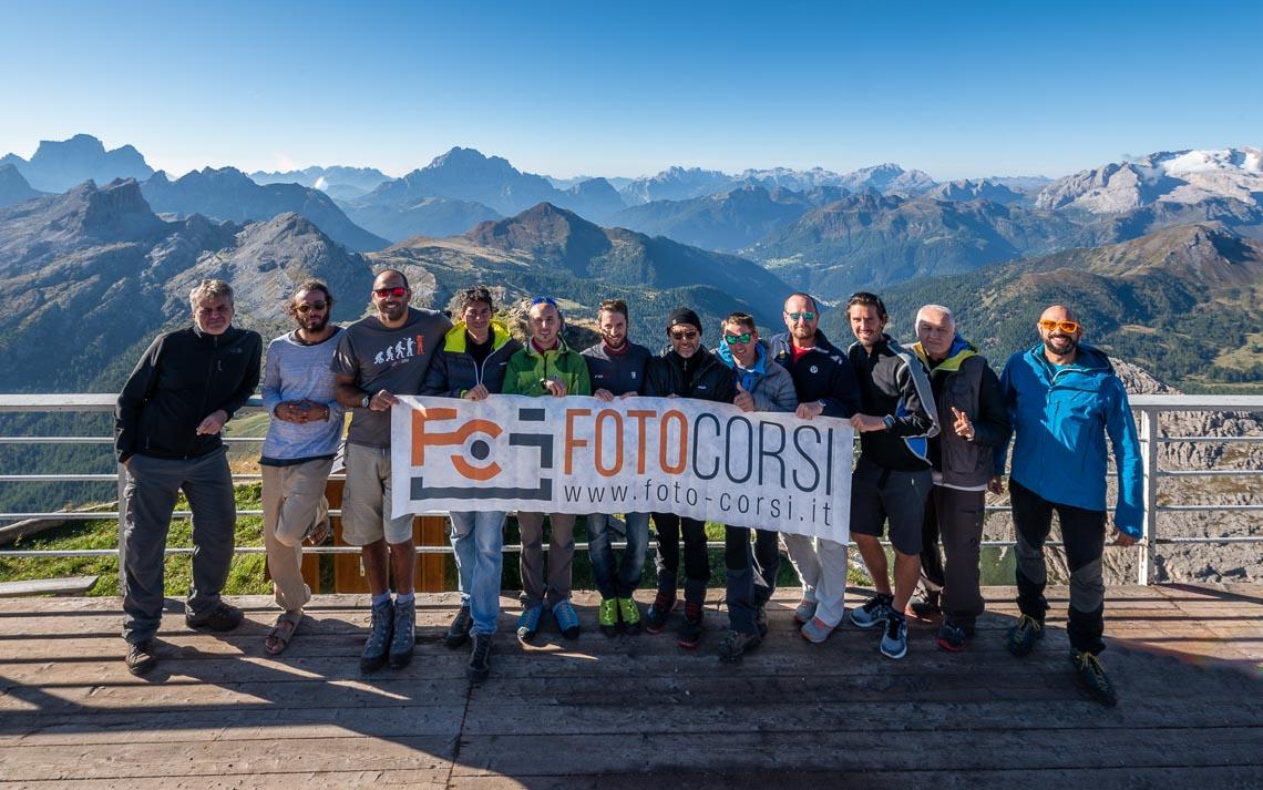 Dolomiti Rifugi Nikon School Workshop Paesaggio Notturna Via Lattea Startrail 00053