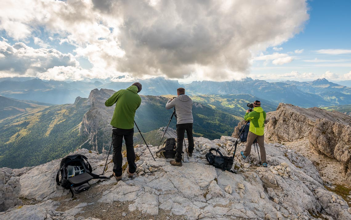 Dolomiti Rifugi Nikon School Workshop Paesaggio Notturna Via Lattea Startrail 00055