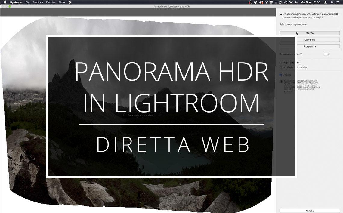 2018 10 17 Diretta Web Panorama Hdr In Lightroom