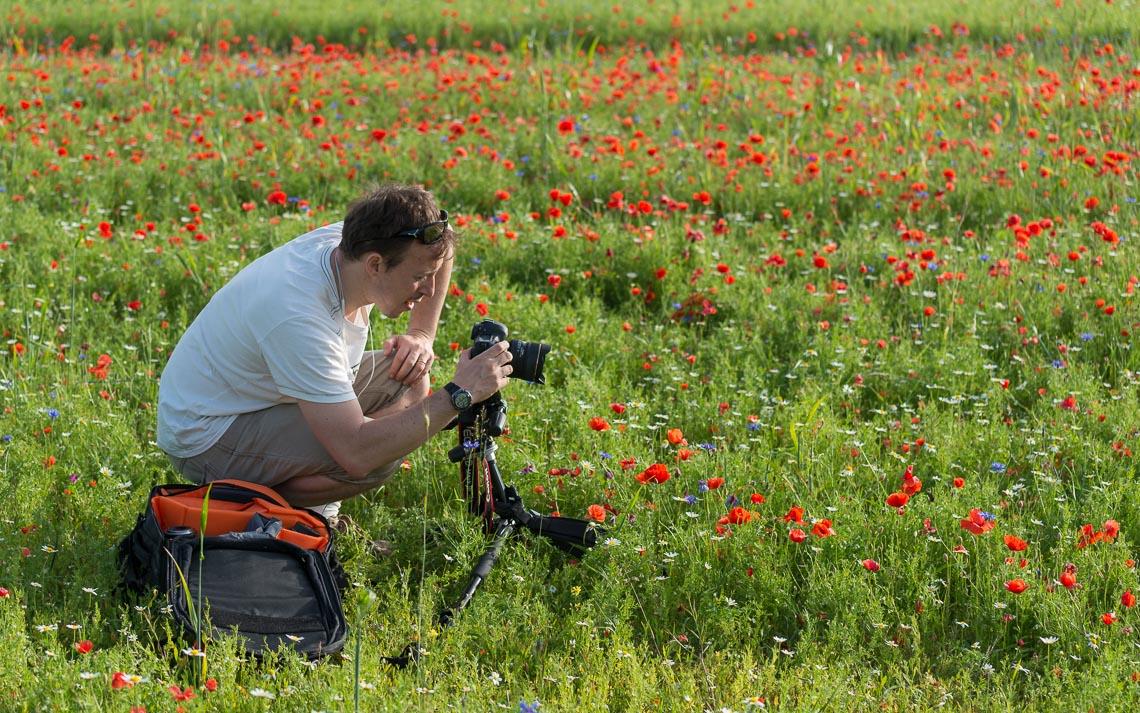 Castelluccio Fioritura Nikon School Workshop Paesaggio Notturna Via Lattea Startrail 00004