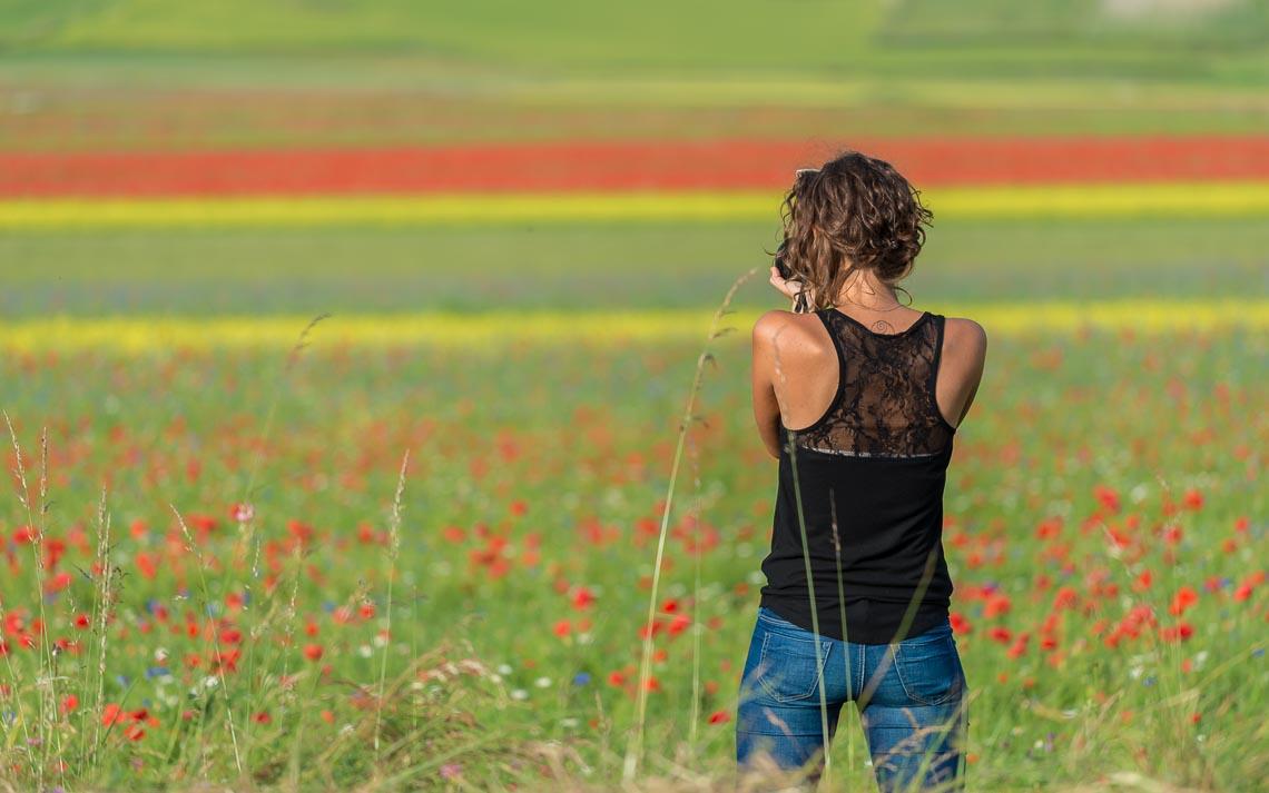 Castelluccio Fioritura Nikon School Workshop Paesaggio Notturna Via Lattea Startrail 00005