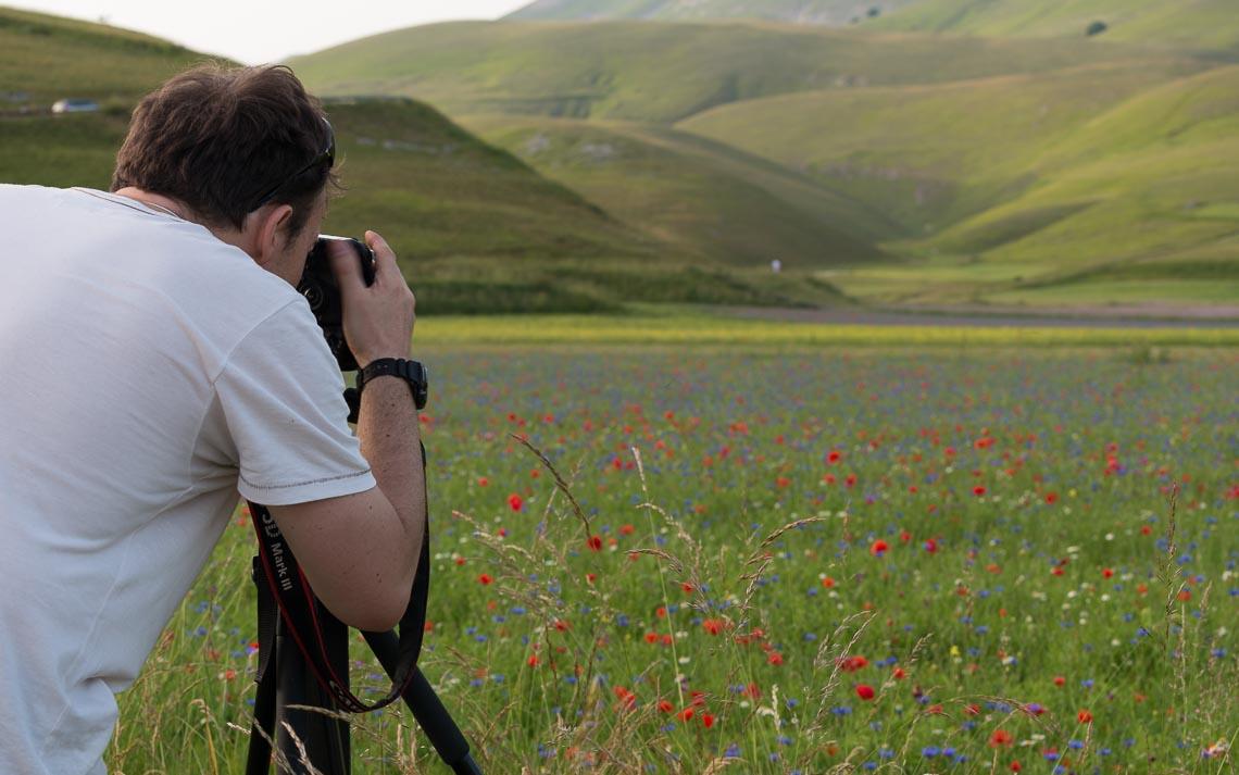 Castelluccio Fioritura Nikon School Workshop Paesaggio Notturna Via Lattea Startrail 00010