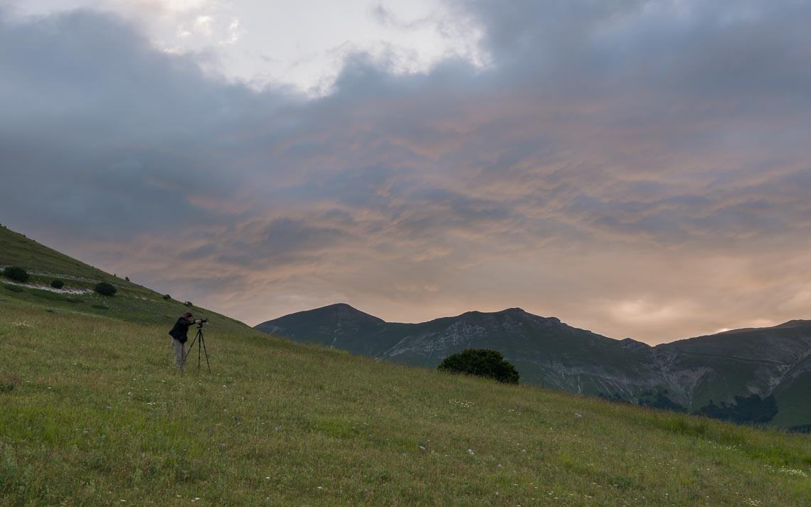 Castelluccio Fioritura Nikon School Workshop Paesaggio Notturna Via Lattea Startrail 00012