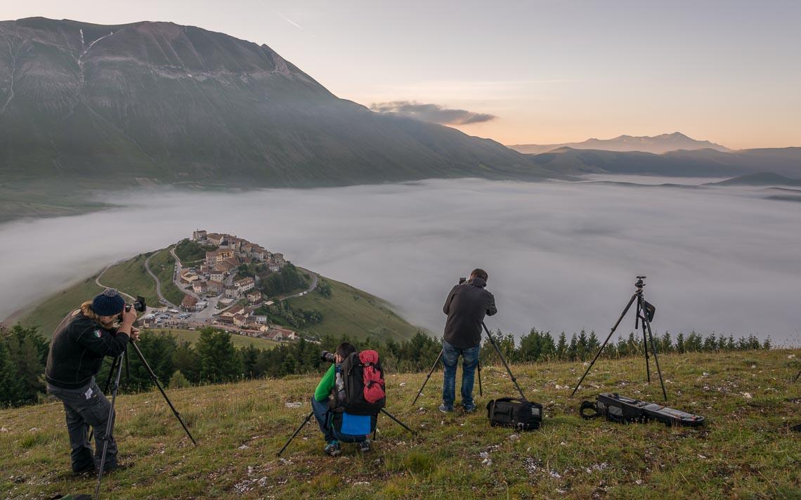 Castelluccio Fioritura Nikon School Workshop Paesaggio Notturna Via Lattea Startrail 00016
