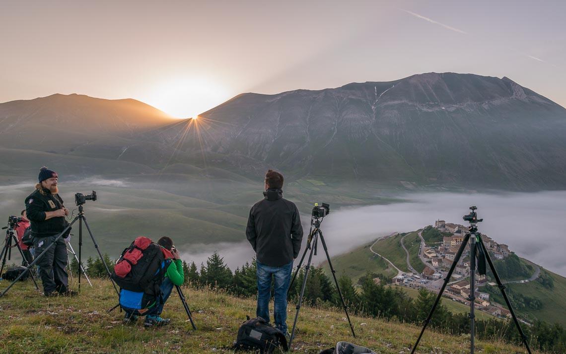 Castelluccio Fioritura Nikon School Workshop Paesaggio Notturna Via Lattea Startrail 00017
