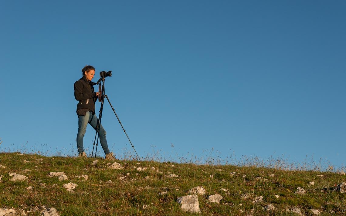 Castelluccio Fioritura Nikon School Workshop Paesaggio Notturna Via Lattea Startrail 00020