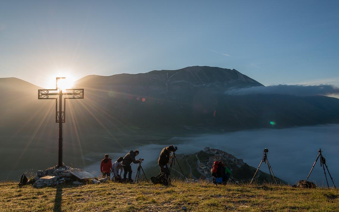 Castelluccio Fioritura Nikon School Workshop Paesaggio Notturna Via Lattea Startrail 00021