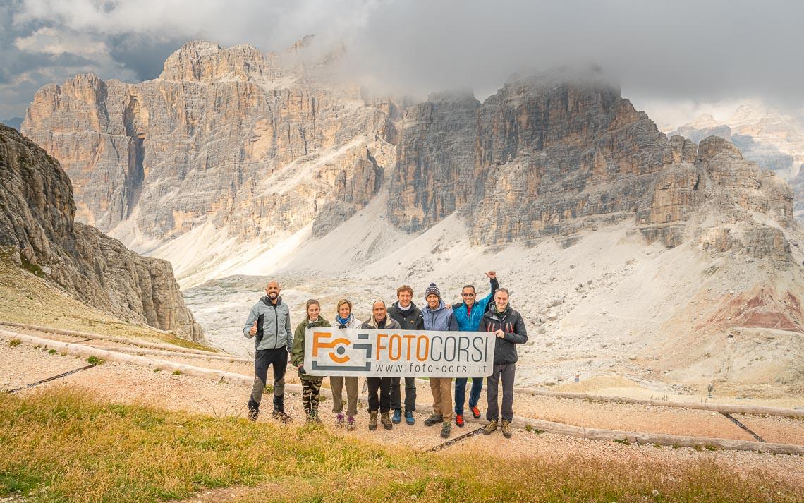 Dolomiti Rifugi Nikon School Workshop Paesaggio Notturna Via Lattea Startrail 00059