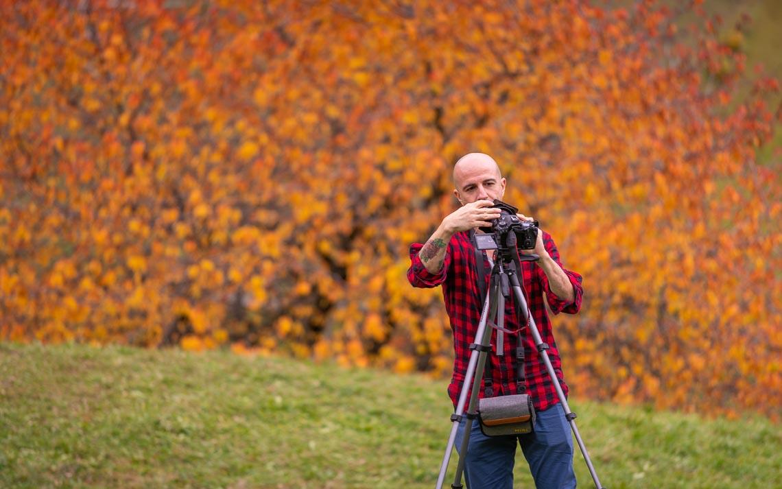 Dolomiti Foliage Autunno Nikon School Workshop Paesaggio Notturna Via Lattea Startrail 00020