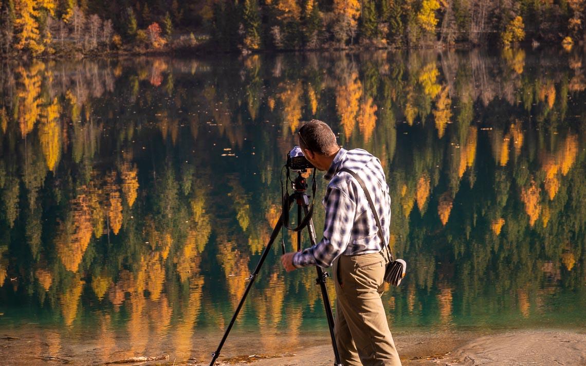 Dolomiti Foliage Autunno Nikon School Workshop Paesaggio Notturna Via Lattea Startrail 00021