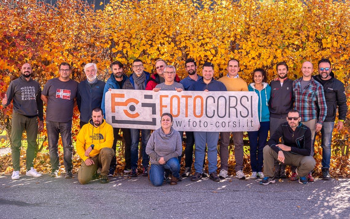 Dolomiti Foliage Autunno Nikon School Workshop Paesaggio Notturna Via Lattea Startrail 00022