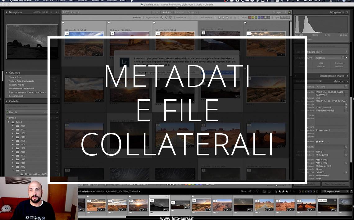 20 03 22 Lightroom Metadati E File Collaterali