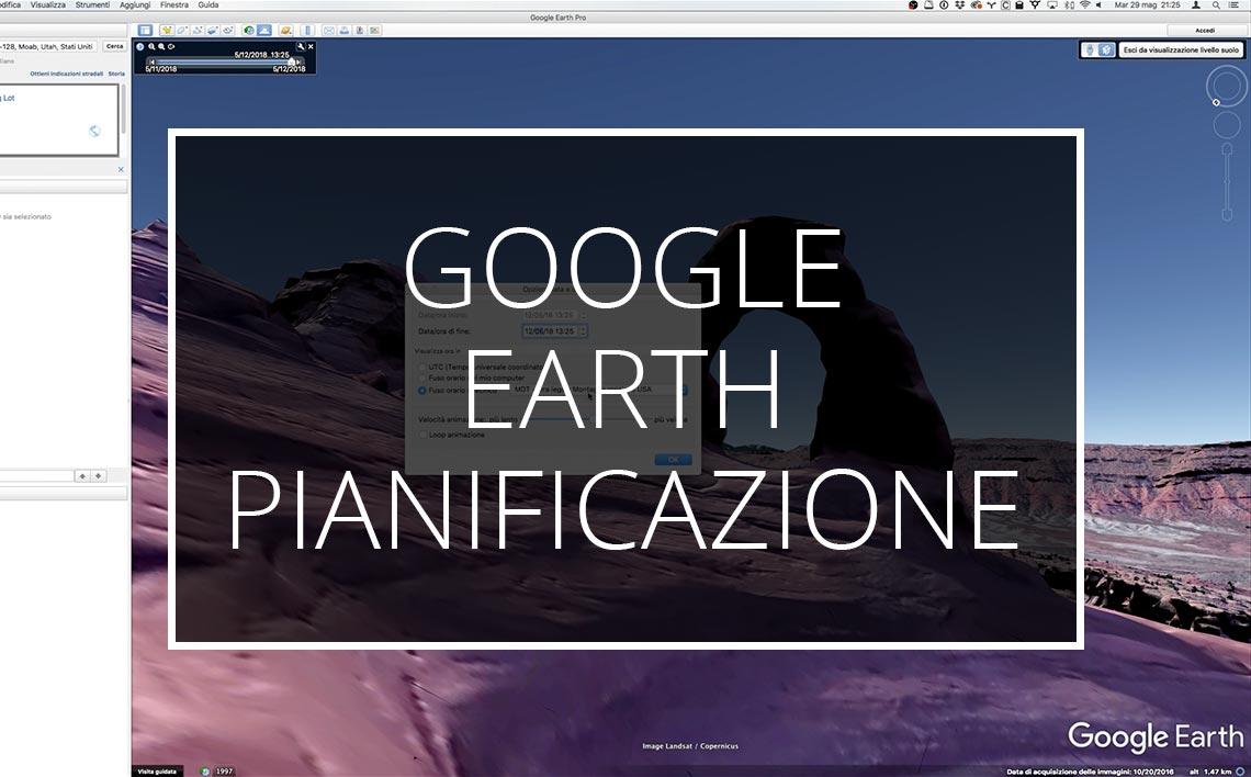 20 03 22 Pianificazione Google Earth Videotutorial Webinar Tutorial