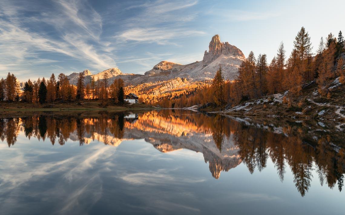 Dolomiti Foliage Autunno Nikon School Workshop Paesaggio Notturna Via Lattea Startrail 00004
