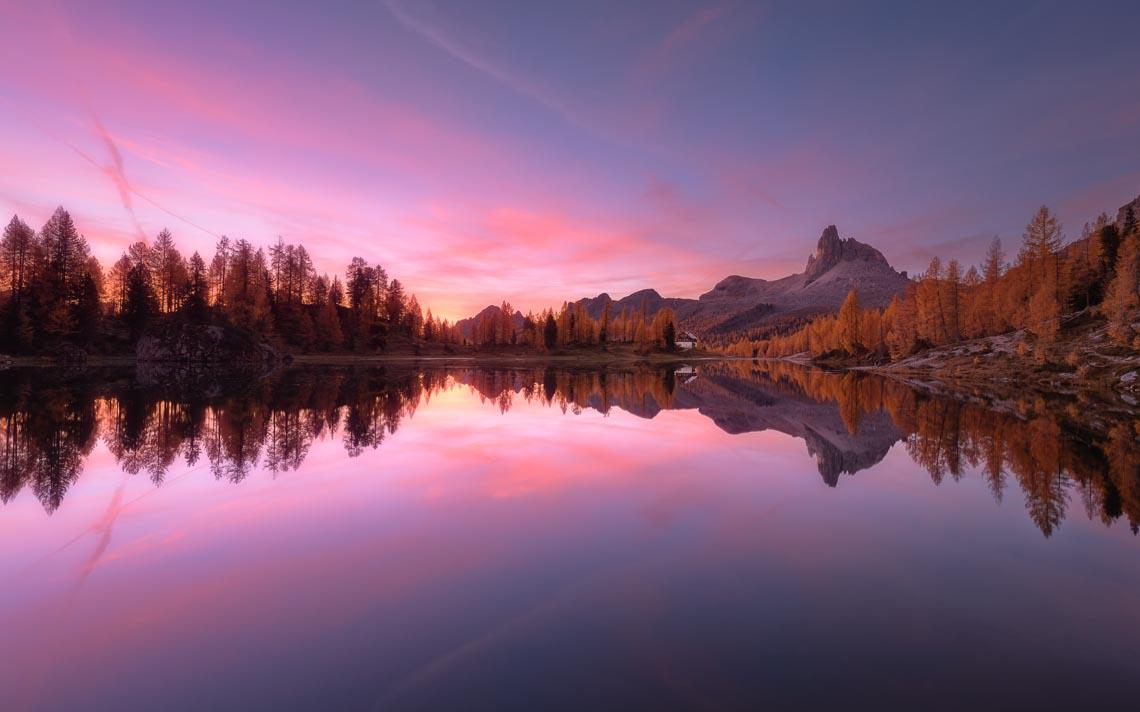 Dolomiti Foliage Autunno Nikon School Workshop Paesaggio Notturna Via Lattea Startrail 00006