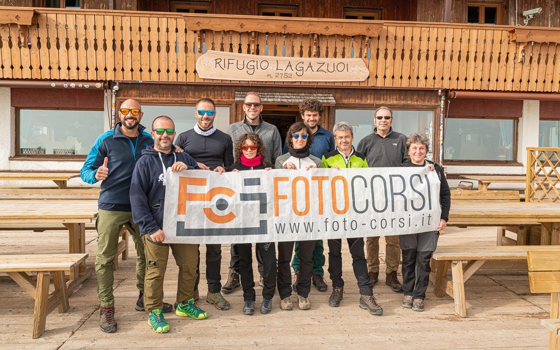 Dolomiti Rifugi Nikon School Workshop Paesaggio Notturna Via Lattea Startrail 00060