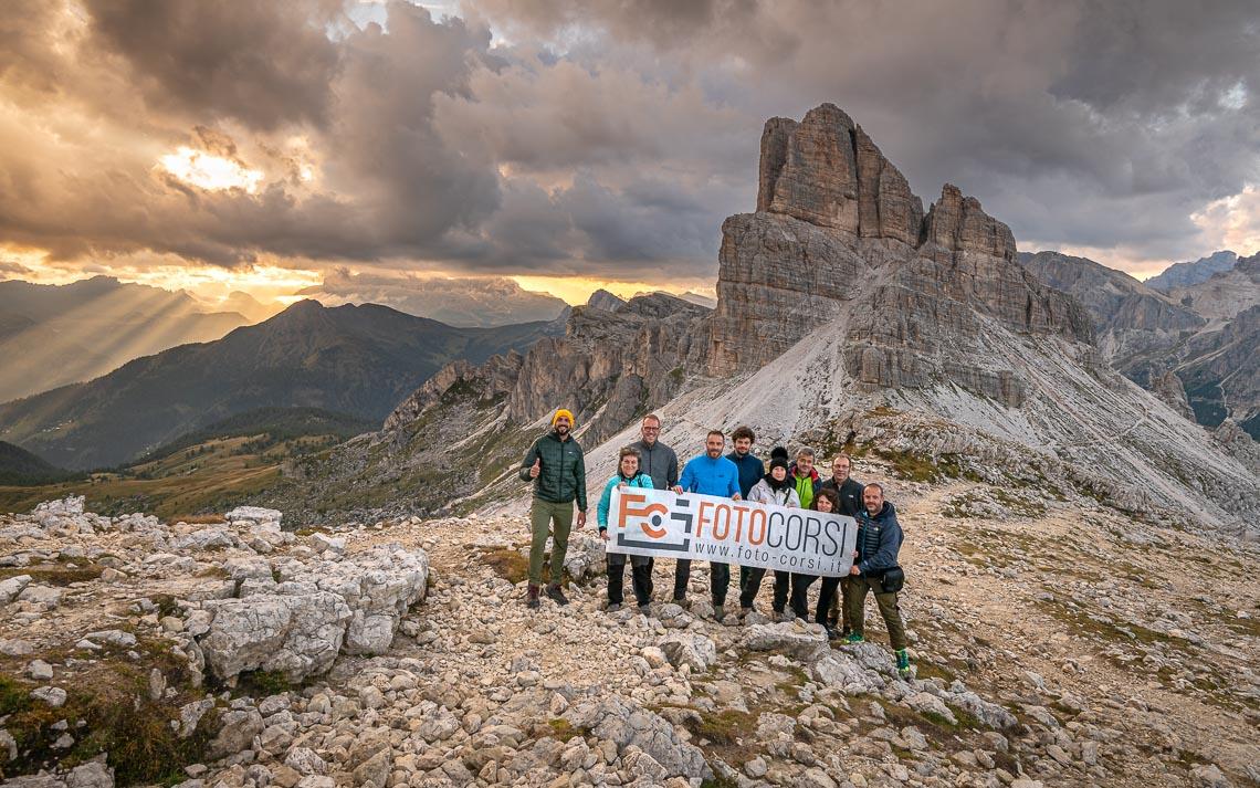 Dolomiti Rifugi Nikon School Workshop Paesaggio Notturna Via Lattea Startrail 00062