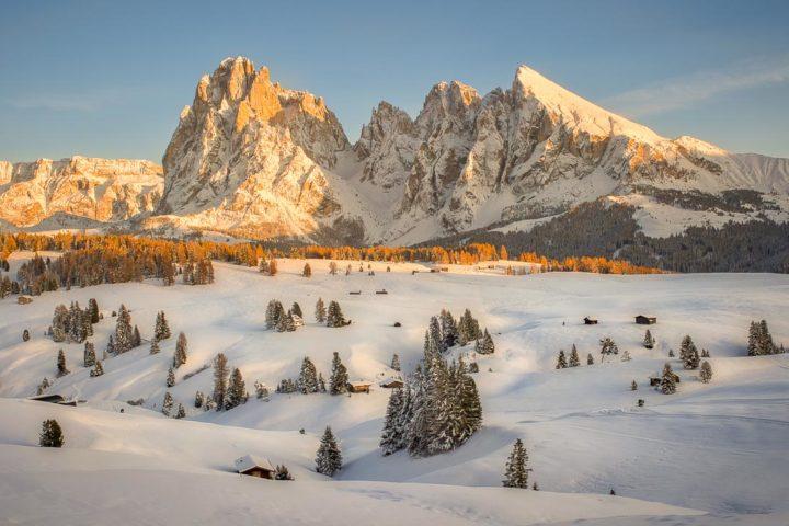 Dolomiti Alpe Siusi Inverno Nikon School Workshop Paesaggio Notturna Via Lattea Startrail 00010