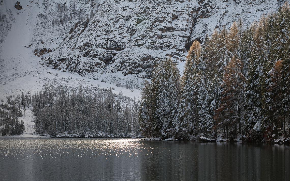 Dolomiti Inverno Braies Giau Anterselva Nikon School Workshop Paesaggio Notturna Via Lattea Startrail 00004