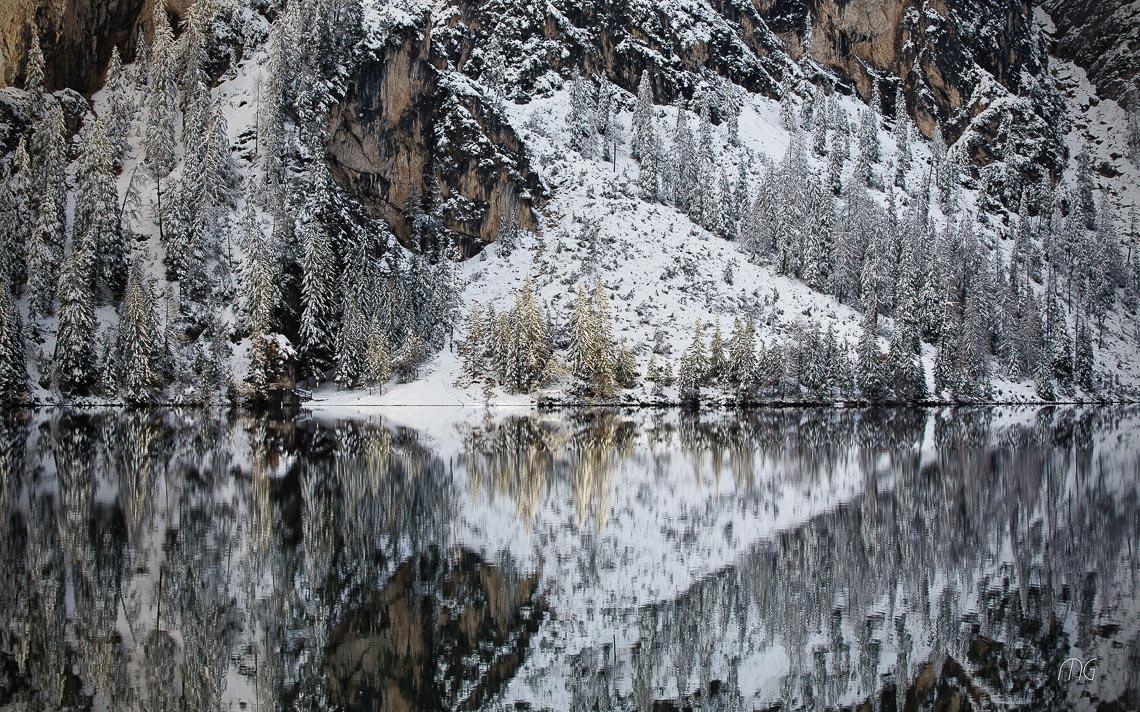 Dolomiti Inverno Braies Giau Anterselva Nikon School Workshop Paesaggio Notturna Via Lattea Startrail 00006