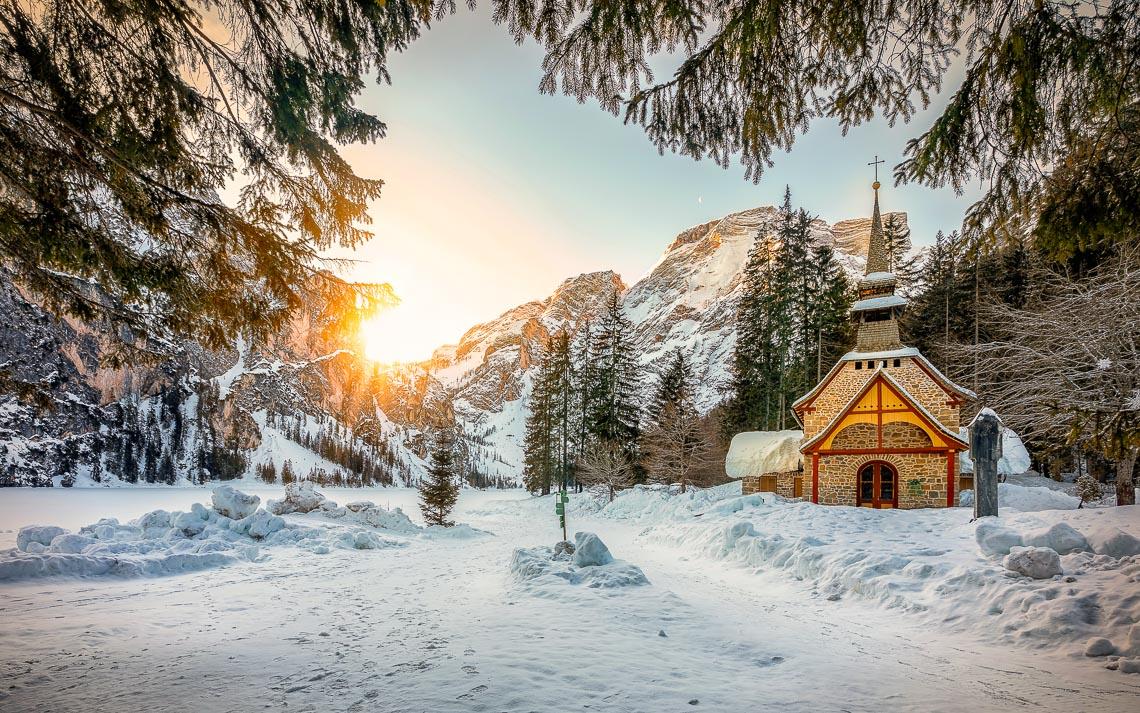 Dolomiti Inverno Braies Giau Anterselva Nikon School Workshop Paesaggio Notturna Via Lattea Startrail 00015