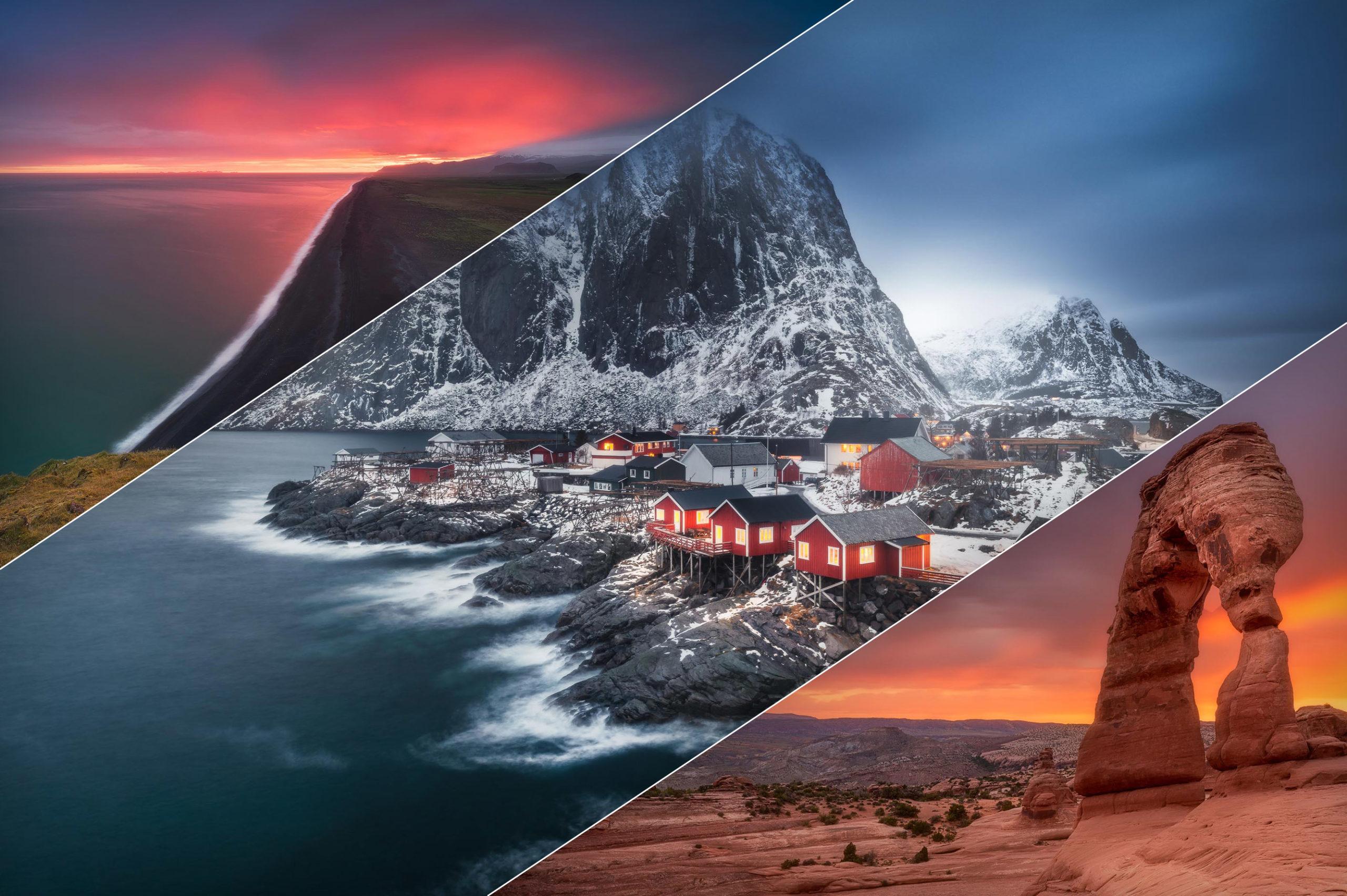 Percorso Formativo Completo di Post-Produzione del Paesaggio con Photoshop e TMPanel in Aula Virtuale