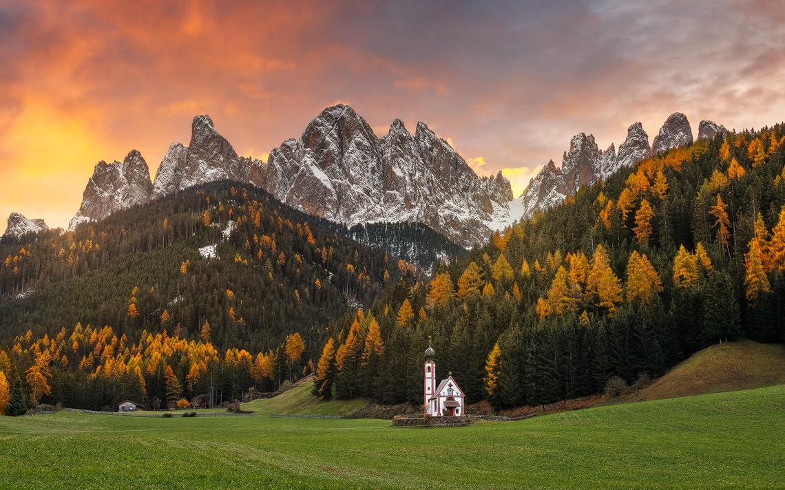 Dolomiti Foliage Autunno Nikon School Workshop Paesaggio Notturna Via Lattea Startrail 00036