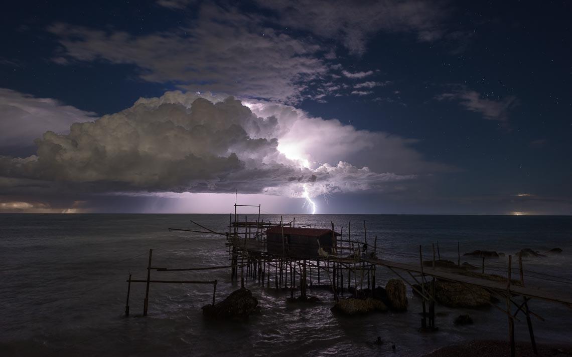 Abruzzo Nikon School Workshop Paesaggio Notturna Via Lattea Startrail 00019