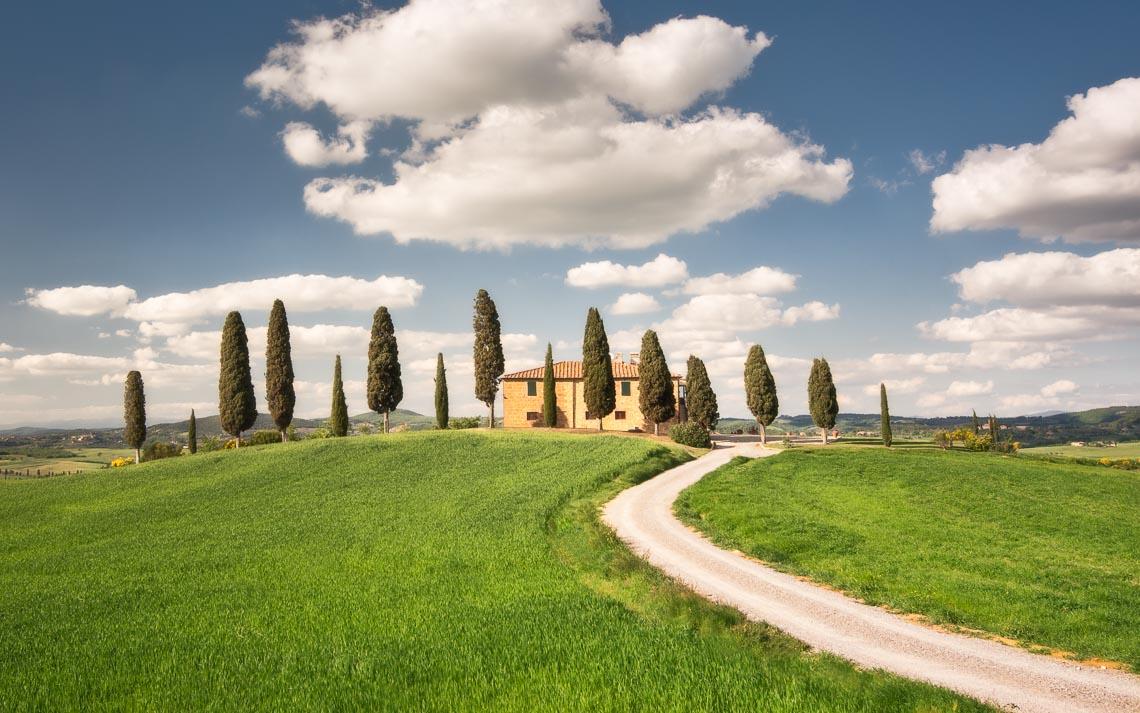 Val Orcia Toscana Nikon School Workshop Paesaggio Notturna Via Lattea Startrail 00084