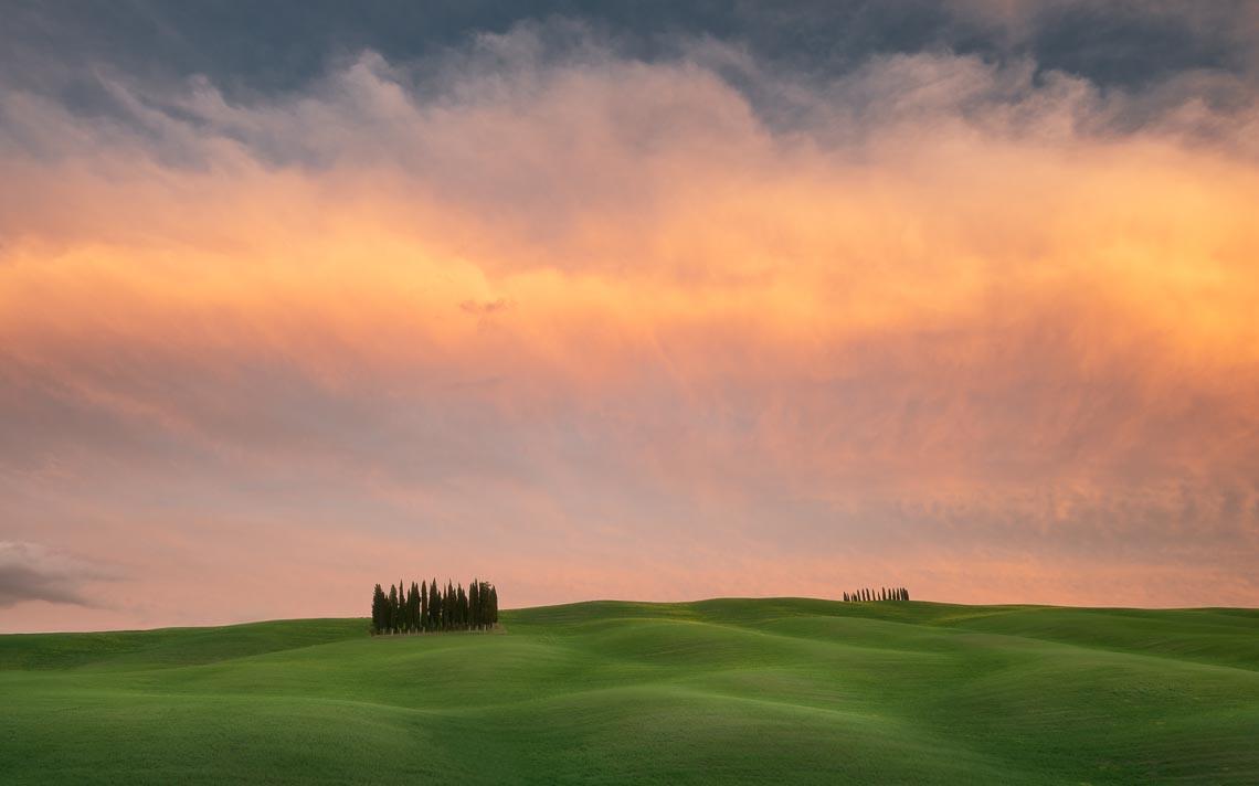 Val Orcia Toscana Nikon School Workshop Paesaggio Notturna Via Lattea Startrail 00085