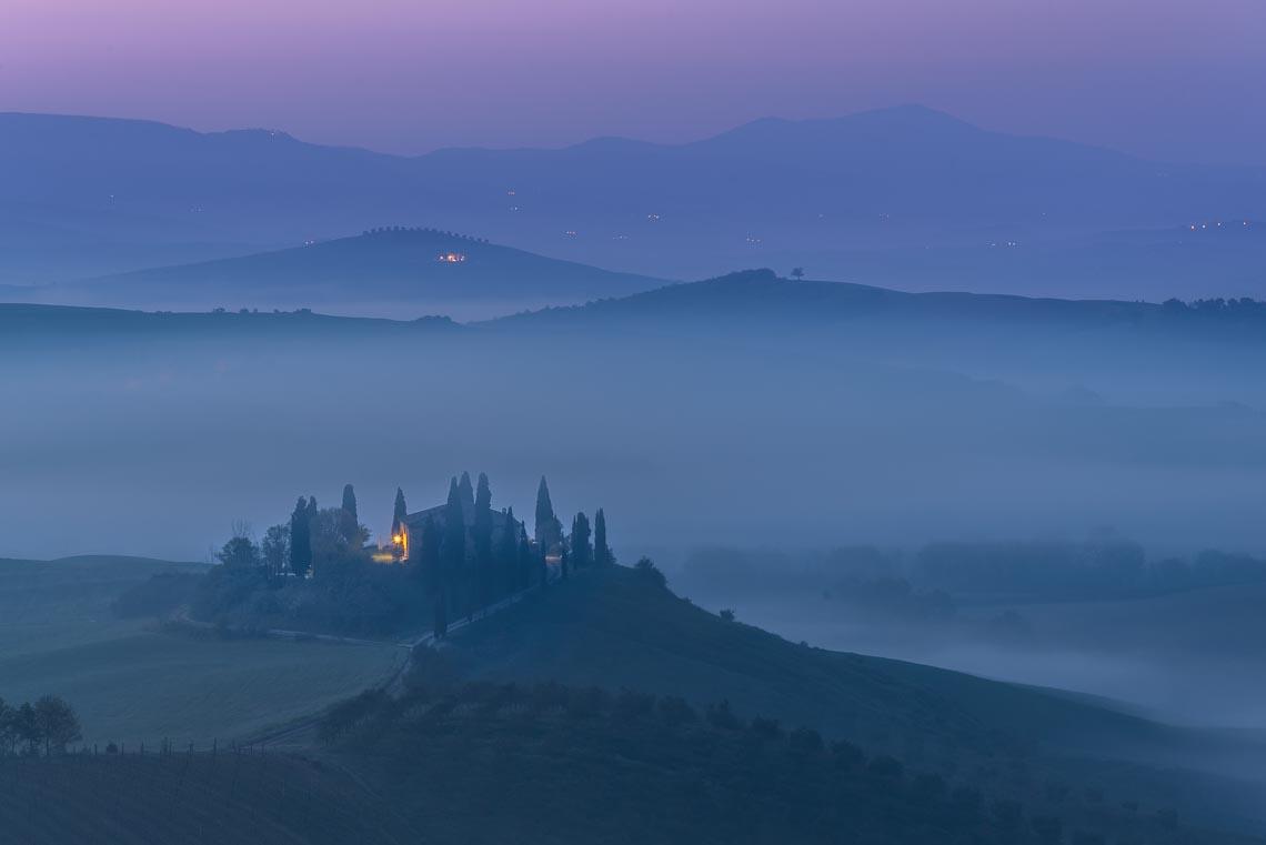 Val Orcia Toscana Nikon School Workshop Paesaggio Notturna Via Lattea Startrail 00010