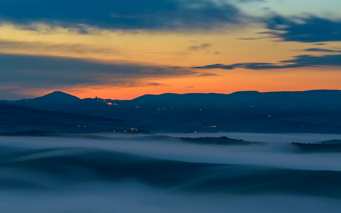 Val Orcia Toscana Nikon School Workshop Paesaggio Notturna Via Lattea Startrail 00011