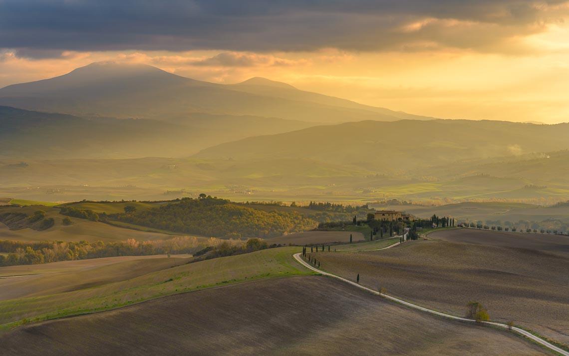 Val Orcia Toscana Nikon School Workshop Paesaggio Notturna Via Lattea Startrail 00017