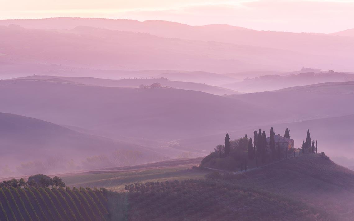 Val Orcia Toscana Nikon School Workshop Paesaggio Notturna Via Lattea Startrail 00021