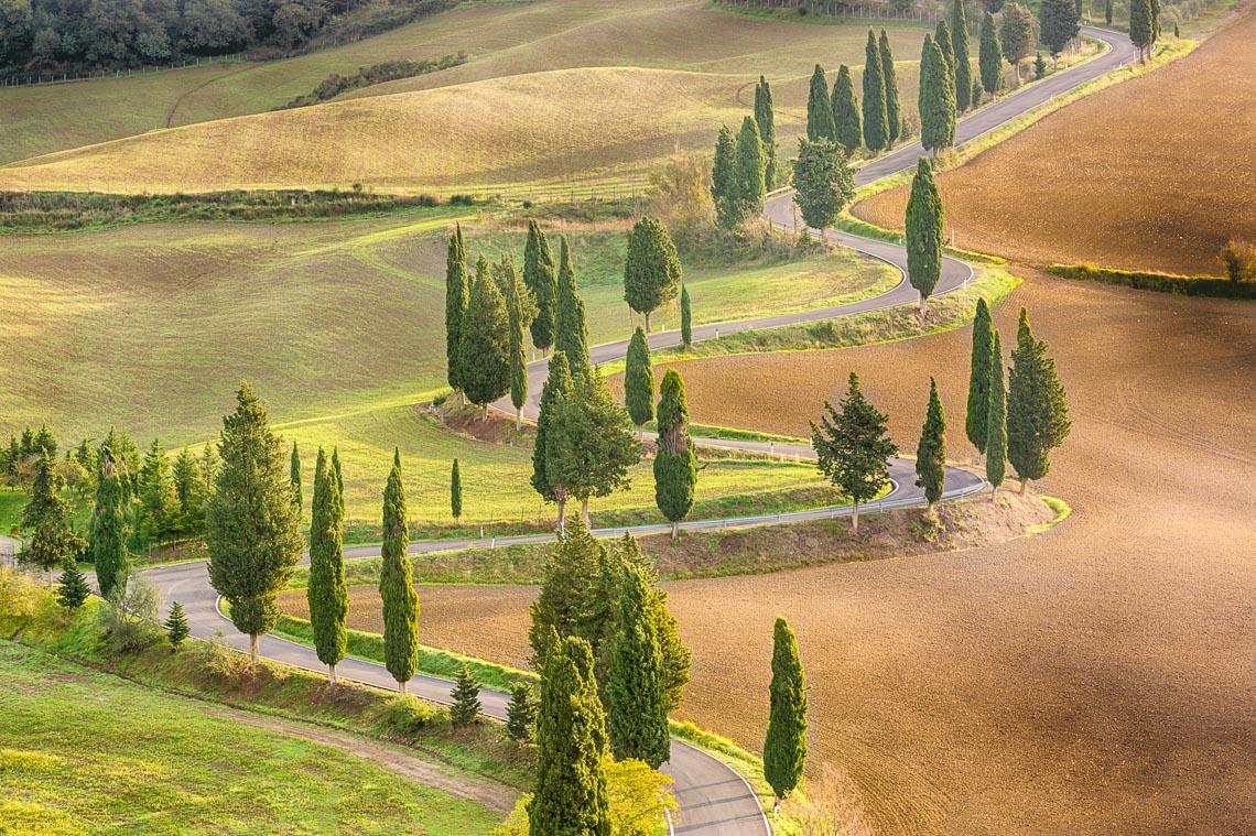 Val Orcia Toscana Nikon School Workshop Paesaggio Notturna Via Lattea Startrail 00023